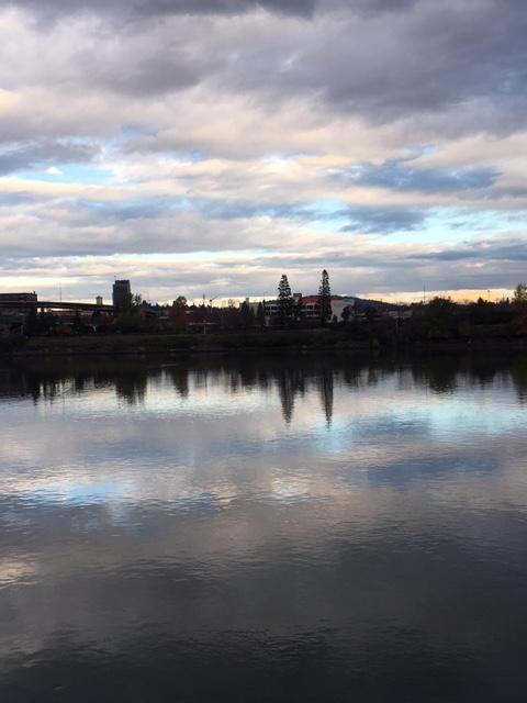 Sunset on the river .jpg