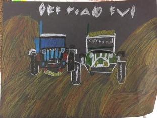 Ramon impressionist jeeps